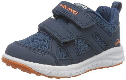 viking Odda, Zapatillas para Caminar Unisex niños, Azul Navy Demin 574, 20 EU ✅