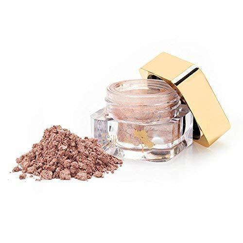 Soie Huile de Maroc Shimmer Paupières/Shimmer/Poudre Minéral Paupières/Eye Pigment - Minéral Maquillage Enrichie avec Bio Argan Huile - Passion Pink, 2g