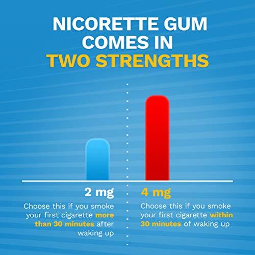 Nicorette 2mg Nicotine Gum to Quit Smoking - Original Unflavored Stop Smoking Aid, 170 Count