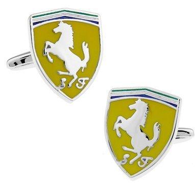 masgemelos Manschettenknöpfe Ferrari Cufflinks