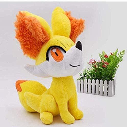 NC83 Juguete de Peluche Animal de Dibujos Animados Anime Juguete de Peluche Fennekin Animal de Peluche Juguetes de Peluche Ideal para niños 24cm