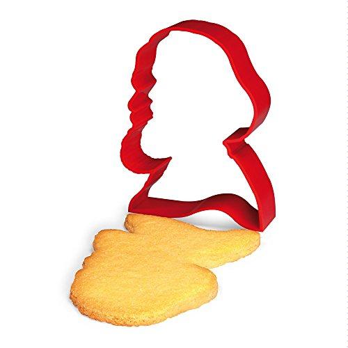 Karl Marx Souvenir & Ausstechform in rot