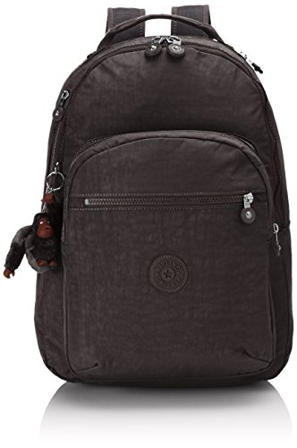 Kipling Unisex Adults' Clas Seoul basic multipurpose backpacks, True Black, 45 cm UK