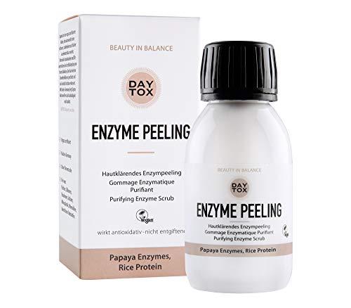 DAYTOX - Enzyme Peeling - Hautkärendes Enzymepeeling für das Gesicht - Vegan, Ohne Silikone, Made in Germany - 35 g