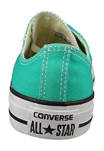 Converse CTAS Ox, Sandalias con Plataforma para Hombre, Verde (Menta), 37 EU