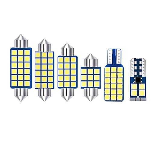 JTSGHRZ Luz Interior del Coche Bombillas LED de 7 Piezas, Luces Interiores de Coche, Luces de Lectura para Maletero, para Stepwgn RP 2015-2016