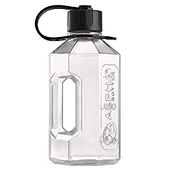 Proudly designed and manufactured in the UK from the highest quality food-safe materials. Large 1600ml capacity - great for intra-workout drinks or just staying hydrated. Get almost a full days water in just one fill! High Quality - Made from BPA and...