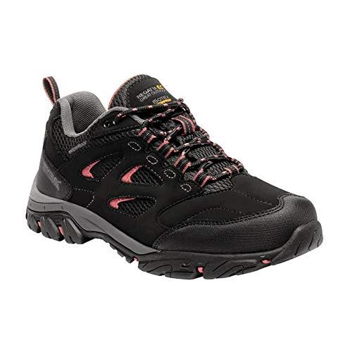 Regatta Holcombe IEP wandelschoenen voor dames, zwart/roze