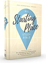 NIV, Starting Place Study Bible, Hardcover, Tan, Comfort Print: An Introductory Exploration of Studying God's Word