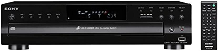 Sony CDP-CE500 5-Disc CD Changer (Black)
