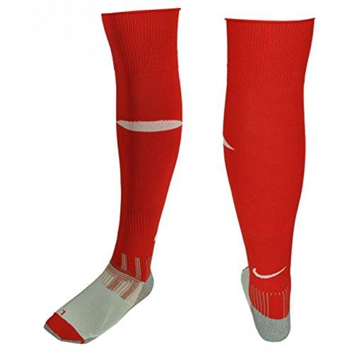 Nike Fußballstutzen / Socken, Rot / Weiß, Gr. 40-46