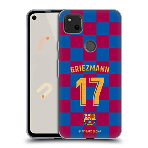 Head Case Designs Oficial FC Barcelona Antoine Griezmann 2019/20 Jugadores Kit Local Grupo 1 Carcasa de Gel de Silicona Compatible con Google Pixel 4a