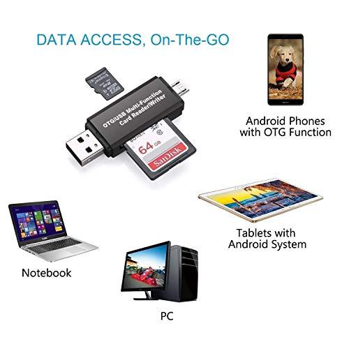 Tipo-c Adaptador USB OTG Lector de Tarjetas SD para Apple Samsung PC MacBook