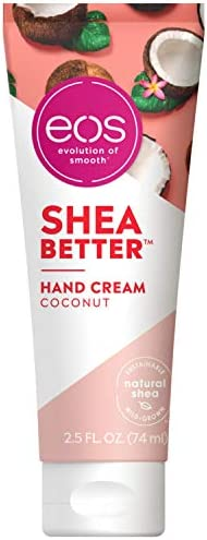 eos Shea Better Hand Cream Coconut Natural Shea Butter Hand Lotion and Skin Care 24 Hour Hydration product image