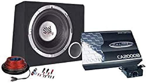 Caliber PACK12D subwoofer/Caisson de Basses 375 W Noir - Subwoofers/caissons de Basses (375 W, 50 - 250 Hz, 2000 W, 30,5 cm (12\