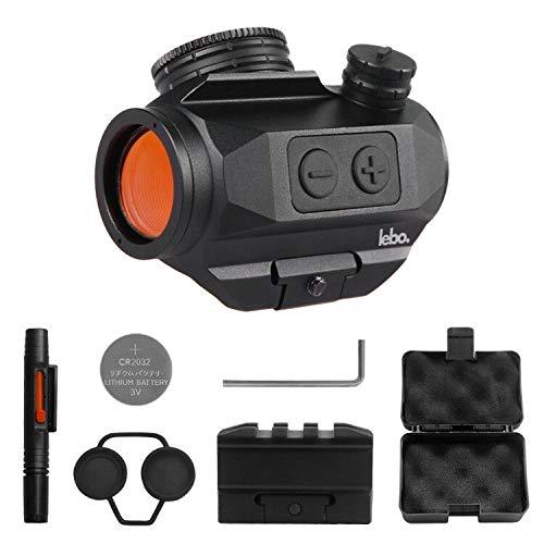 Cheap LEB Optics Micro Red Dot Reflex Sight -3 MOA Red Dot Magnifier Sight - Auto Shutoff - Standard...