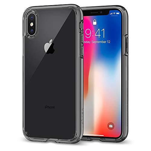 Spigen Cover iPhone X, [Ultra Hybrid] Custodia iPhone X con Tecnologia Air Cushion e Protezione da Goccia Ibrida per Apple iPhone X (2017) - Space Crystal - 057CS22131
