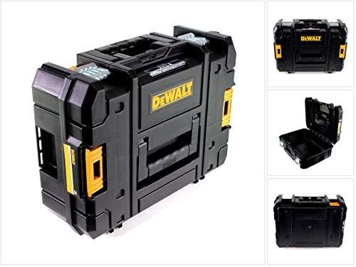 Dewalt DWST1-70703 TStak II Aufbewahrungsbox für Elektrowerkzeuge, 13,5 l Fassungsvermögen, Schwarz