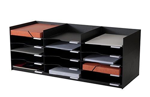 Paperflow-Equipo de armarios 532,01 Archivador estructura de poliestireno, color negro