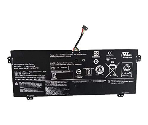 L16L4PB1 L16C4PB1 L16M4PB1 2ICP4/43/110-2 5B10M52738 5B10M52739 5B10M52740 Reemplazo de la batería del portátil para Lenovo Yoga 720-13IKB 730-13IKB 730-13IWL Series(7.72V 48Wh 6217mAh)