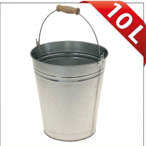Eimer Zinkeimer Metalleimer Wassereimer 10l Zink Blecheimer Ascheeimer