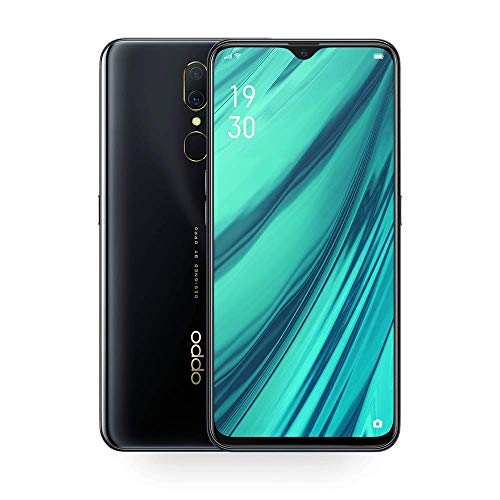 Oppo A9X 6.53 Inch 6GB+128B GTFT Full Screen 1080X2340 Support OTG 1080P 6G 128G Octa Core 4020mAh 3 Cameras 16MP+48MP+5MP VOOC Flash Charge (Black)