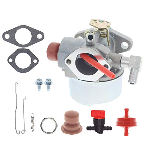 Masnln Carburetor Carb for Toro 22 inch 6.75HP 6.5HP Recycler Lawnmowers 20016 20017 20018, for Tecumseh 6HP 6.25HP 6.5HP 6.75HP Mowers Engines with 32653 34336A Link 36281 Spring Kit