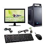 "Gandiva Desktop Computer (Core I3 1st Gen CPU/H55 Motherboard/8GB DDR3 RAM/500GB HDD/15.6"" Monitor/WiFi)"