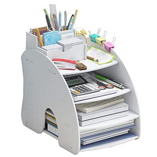 Organizador de escritorio, para oficina, oficina, oficina, escuela, etc