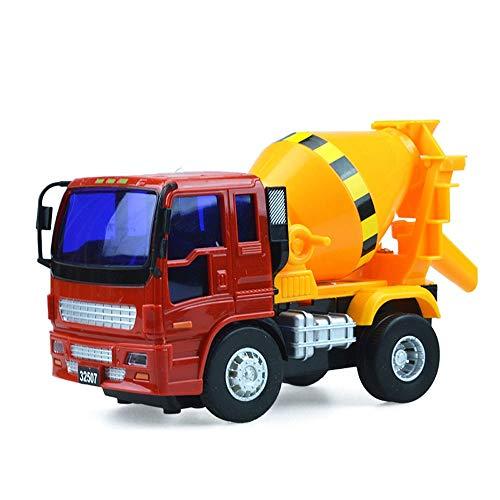 Xolye Kleiner Mixer Truck Spielzeug Inertial Vorrücken Zement Tank LKW Modell Simulation Engineering Fahrzeug Spielzeug Dekoration Kinderkognitive Lehrhilfe Geschenk