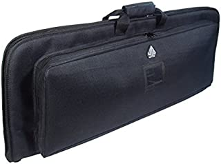 UTG Covert Homeland Security Gun Case with Adjustable Shoulder Strap and Logo