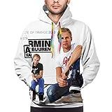 Armin Van Buuren - Sudadera de manga larga con capucha para hombre