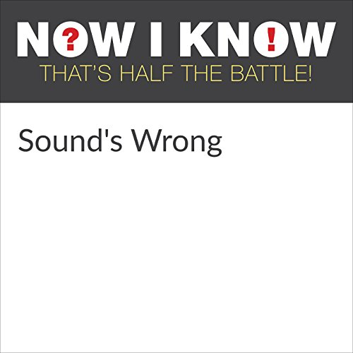 Sound's Wrong audiobook cover art