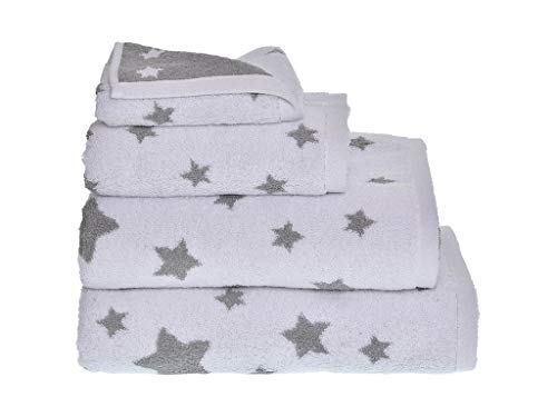 MI CASA Toalla Stars TOCADOR Gris 500GR