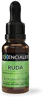 Essenciales - Aceite Esencial de Ruda, 100% Puro y Natural, 10 ml | Aceite Esencial Ruta Graveolens