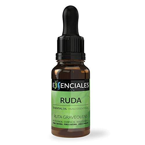 Essenciales - Aceite Esencial de Ruda, 100% Puro y Natural, 10 ml | Aceite Esencial Ruta...