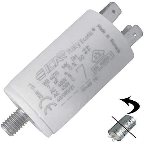 CONDENSATEUR 7 MF 450 V POUR SECHE LINGE CANDY - 41039164