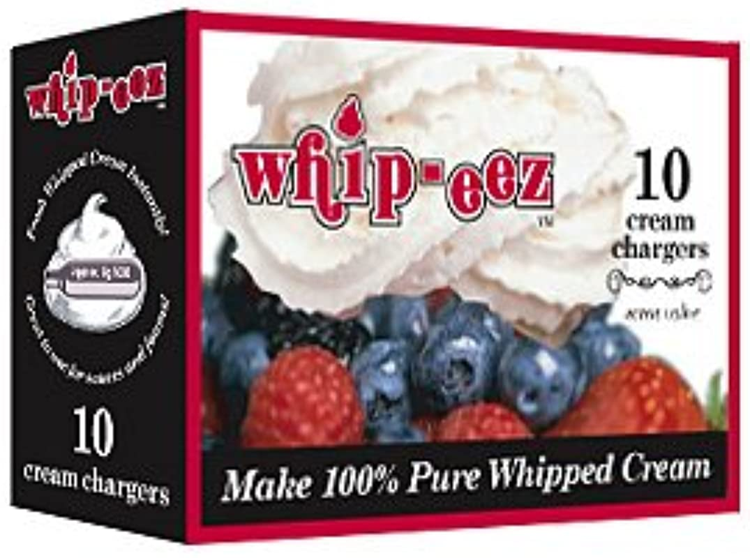 Whip Eez N2o Whip Cream Chargers 100 Chargers 10 10 Packs