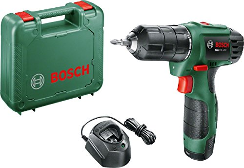 Bosch EasyDrill 1200 Cordless Drill/Driver with 12 V, 1.5 Ah