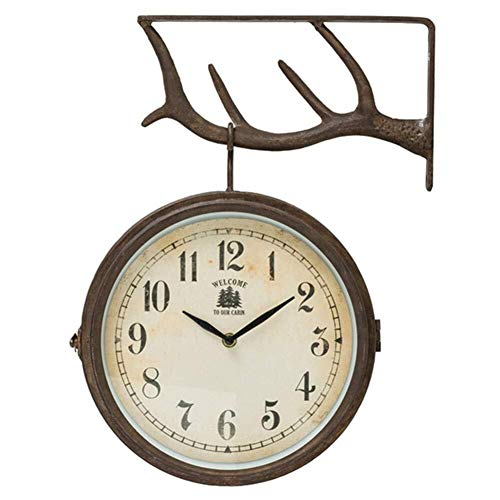 relojes de pared estacion de tren de la marca WKLIANGYUANPING