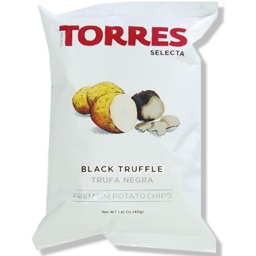 TORRES トーレス 黒トリュフポテトチップス 40g×20袋 1ケースまとめ買いセット