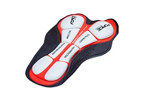 Fondello in gel per pantaloncini da ciclismo, antibatterico, antiparassitario, 3D, mod. 2852e.