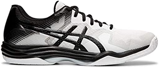 ASICS Men's Gel-Tactic 2 Volleyball Shoes, 7M, White/Black