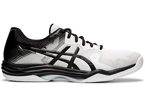 ASICS Men's Gel-Tactic 2 Volleyball Shoes, 10M, White/Black