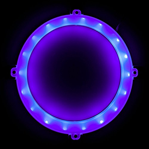 Blinngo Cornhole LED Lights, Ultra Bright Standard Cornhole Night Light for Family Backyard Bean Bag Toss Cornhole Game, Four Color Options, Long-Lasting Over 72 Hours, 2 Set (Purple)