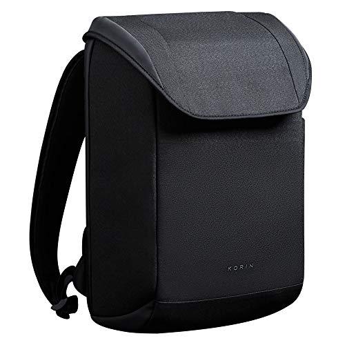 KORIN ClickPack X Minimalistischer Anti-Diebstahl-Rucksack für Reisen, intelligenter Rucksack, einfaches Aufladen über USB, 3.0 Port, Smart Storage 15,6 Zoll Laptoptasche