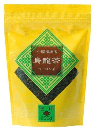 日本緑茶センター ティーブティック 徳用 烏龍茶 200g