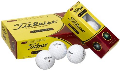 Titleist NXT golf balls- 1 dozen