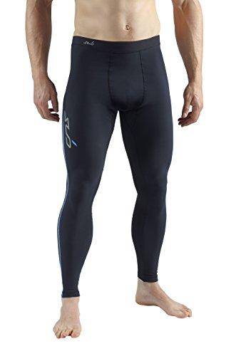 Sub Sports Herren Semi Kompressionsunterhose, lang schwarz schwarz XL