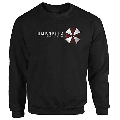 Tex-Ha Umbrella zwart sweatshirt